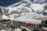 EBC and Khumbu Icefall