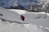 Crossing IP Glacier