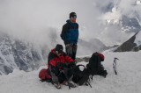Taking a breather at 6000mtrs