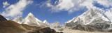 Pumori and Khumbu valley