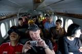 The flight to Lukla