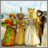 Costumés vénitiens - Carnavals et fêtes en FRANCE  en  2010