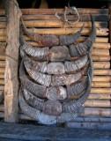 Buffalo horns