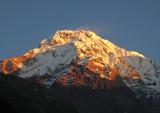 Sunrise, Annapurna South