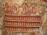 Cave ceiling carvings