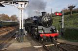 No. 80151 arriving at platform 5