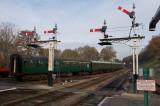 Mainline at Horsted Keynes station