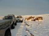 Rjúpnavellir - Bjallahraun - Hekla - Krakatindur - Keldur - 7. mars 2009