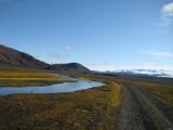 Hágöngur - Vonarskarð - Dreki - Reykjaheiði - Laugafell - Mælifellsdalur - Hveravellir - sep. 2009
