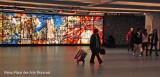 Metro   Place des arts.