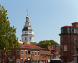 Another View of the Maryland State House Dome