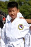 Young Karate student