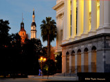 Cathedral of the Blessed Sacrament and California State Capitol