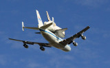 Shuttle Endeavour final flight over Sacramento