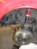 New brake set up finalized