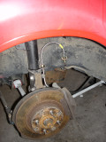 Rear Brakes with Stainless lines