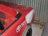 Rear quarter repair.