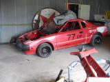 New bumper fitting,
