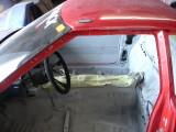 Cockpit painted