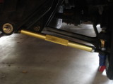 Tubular tie-rods and bumpsteer pins installed