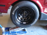 Test fit at current ride height
