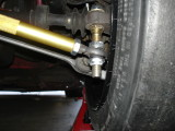 Clearance for bumpsteer pins