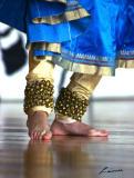 East Indian Dance 9 - feet