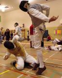 Queen's Fencing 2008-09
