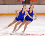 Queen's Figure Skating 2008-09