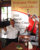 Chris Whyman - World Champion Town Crier 2010