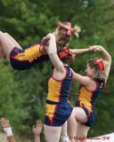 Queen's Cheerleaders 2010-11