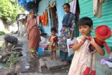 Life in a slum in Pune
