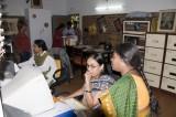 at Vimochana's office