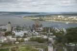 Vieux Quebec du ciel