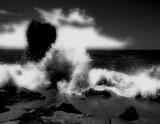 Rock Formations  Crashing Waves 2