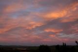 ... das Rot, das in der Wolke blinkt...