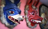 Mexican Wolf Masks