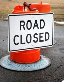 Red Shoe Road Closed