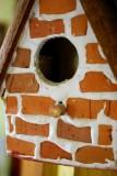 Brick Birdhouse