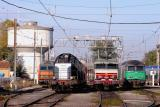 At Avignon depot, the BB26120, BB66298, CC6561 and the BB67505.