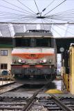 The (very dirty) BB7282 at Avignon depot.