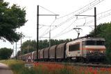 Heading to north, the BB7416 near Salon-de-Provence.