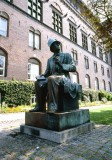 Statue of Hans Christian Andersen.