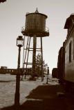 Train station..
