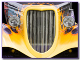 Street Rod's Yellow Flames