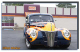 Dunkin Donut With A Hot Rod Visitor