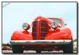The Classic Red Street Rod