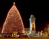 Christmas Tree In Clinton Square