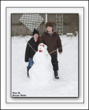 Ah, Now What Would Winter Be Without A Snowman