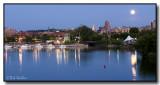 Twilight At Inner Harbor